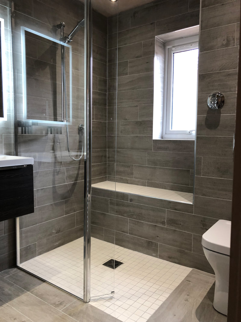New shower fitted by JPC plumbing