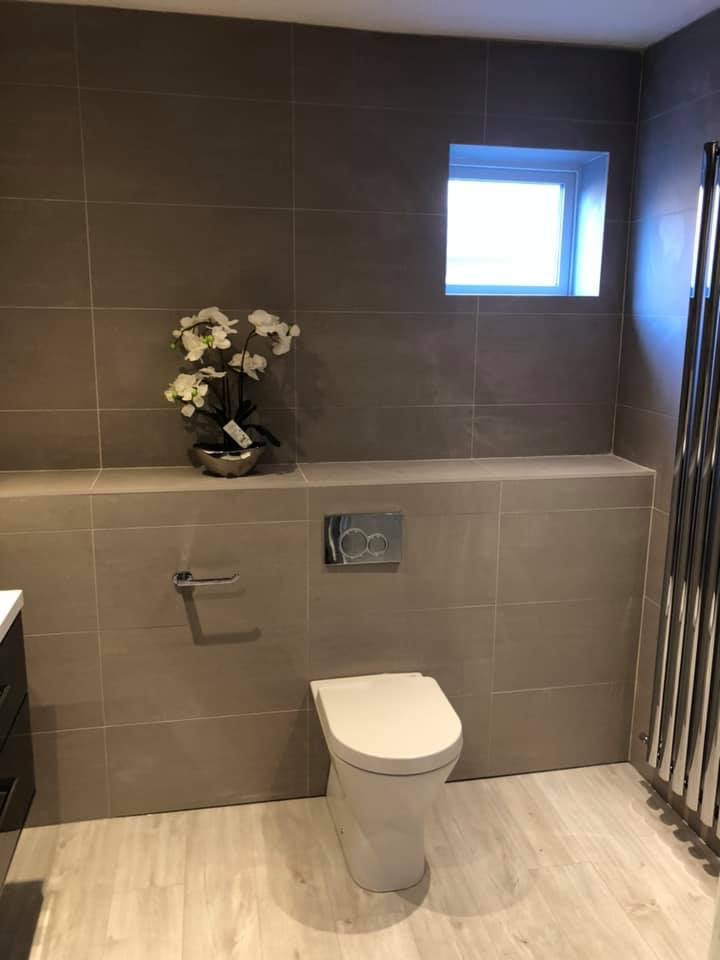 new bathroom fitted by JPC plumbing