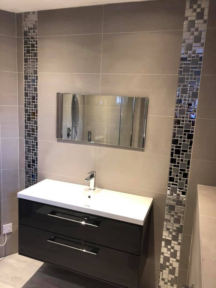Bathroom unit installed by JPC plumbing of swindon