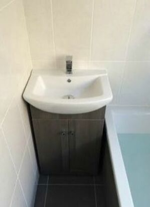 Sink unit fitted by JPC Plumbing of swindon