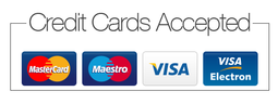 JPC Plumbing accept all major credit and debit cards